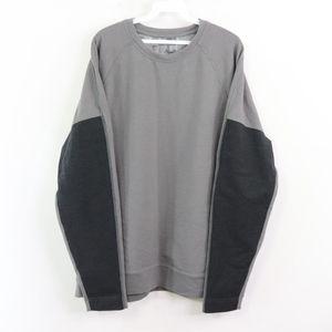 Lululemon Mens 2XL Geometric Print Sweatshirt Gray